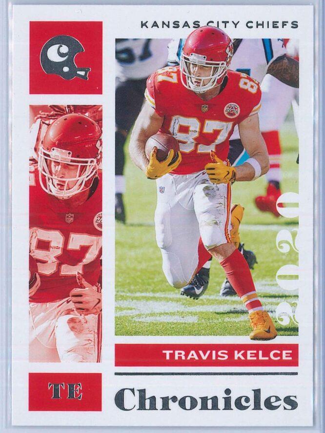Travis Kelce Panini Chronicles Football 2020 Base