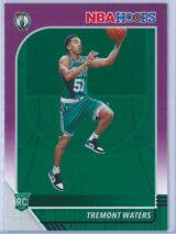 Tremont Waters Panini NBA Hoops Basketball 2019-20 Base Purple  RC