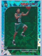 Tremont Waters Panini NBA Hoops Basketball 2019-20 Base Teal Explosion  RC