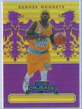 Ty Lawson Panini Excalibur Basketball 2014 15 Crusade Camouflage Purple 6975 1