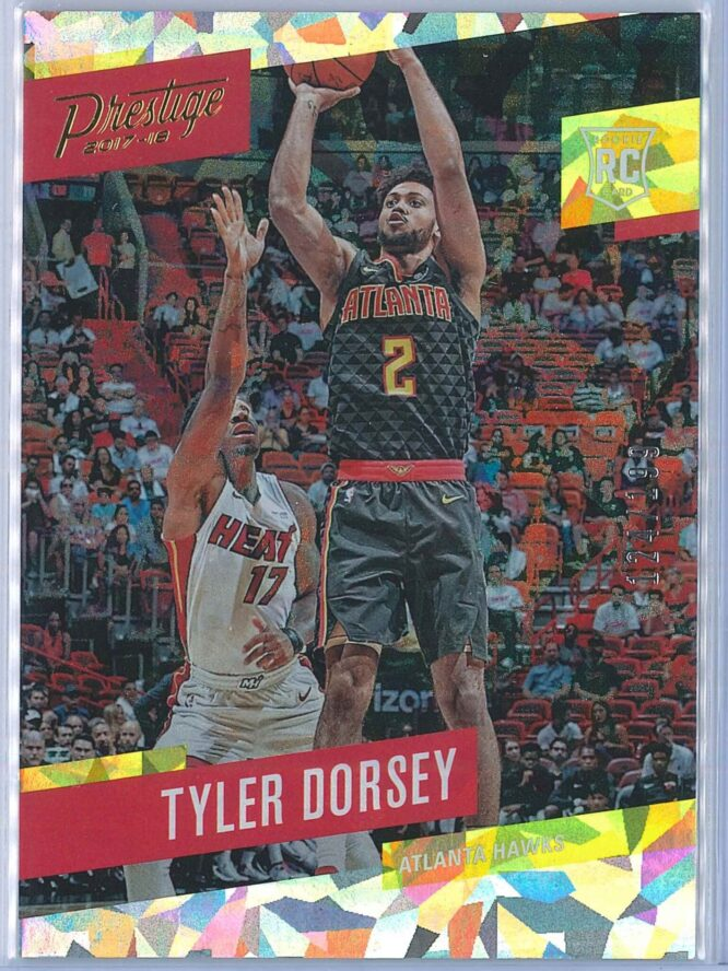 Tyler Dorsey Panini Prestige Basketball 2017 18 Base Crystal Parallel 124199 RC 1