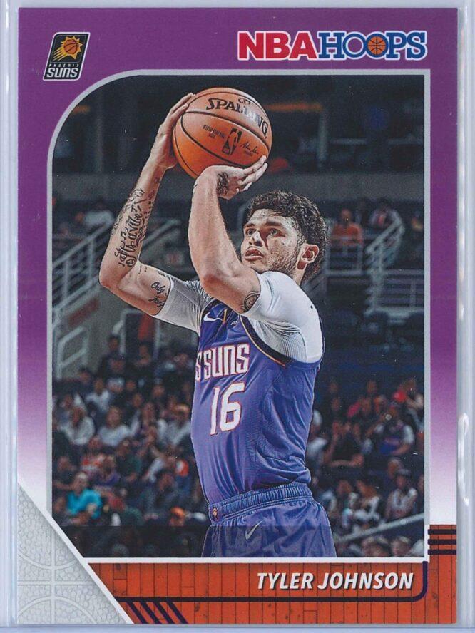Tyler Johnson Panini NBA Hoops 2019-20  Purple