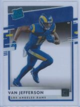 Van Jefferson Panini Chronicles Football 2020 Clearly Donruss Rated Rookie 1
