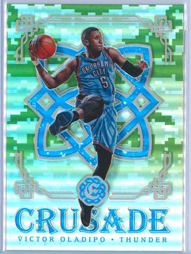 Victor Oladipo Panini Excalibur Basketball 2016-17 Crusade Camo