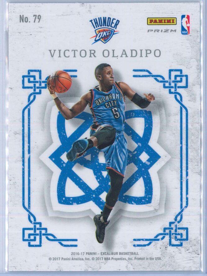Victor Oladipo Panini Excalibur Basketball 2016 17 Crusade Camo 2