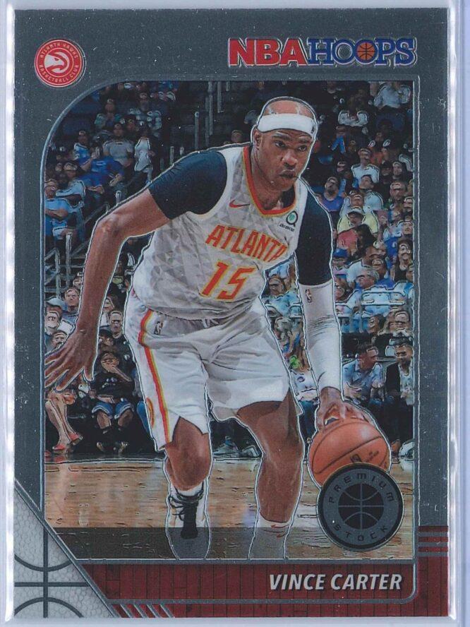 Vince Carter Panini NBA Hoops Premium Stock 2019-20 Base