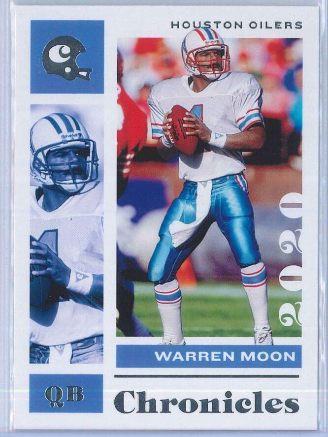 Warren Moon Panini Chronicles Football 2020 Base 1