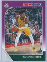 Wesley Matthews Panini NBA Hoops 2019-20  Purple