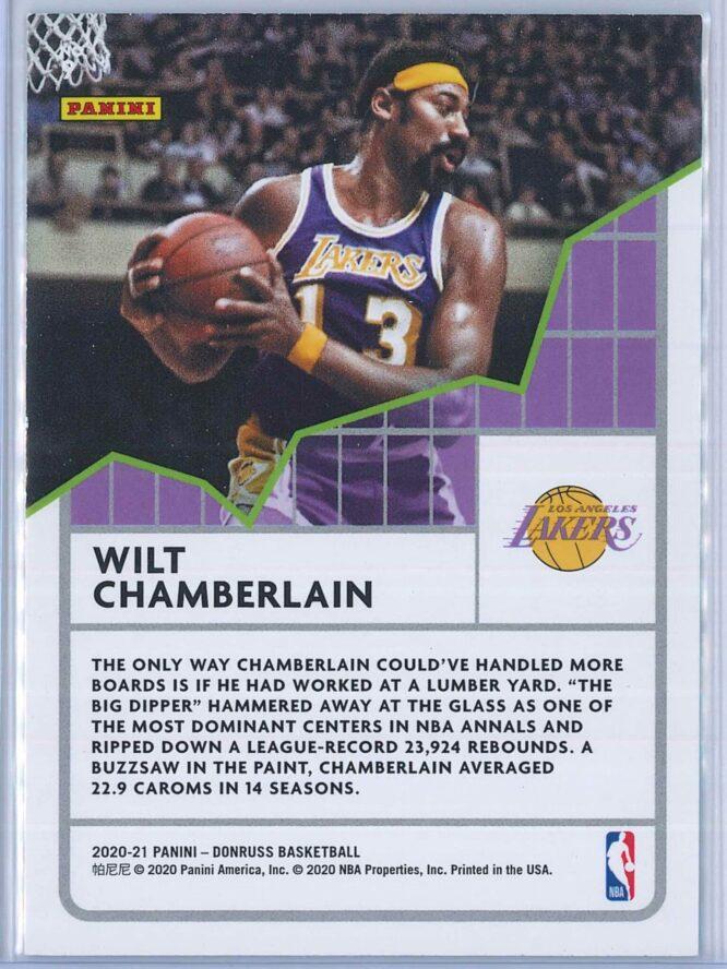 Wilt Chamberlain Panini Donruss Basketball 2020 21 All Time League Leaders 2