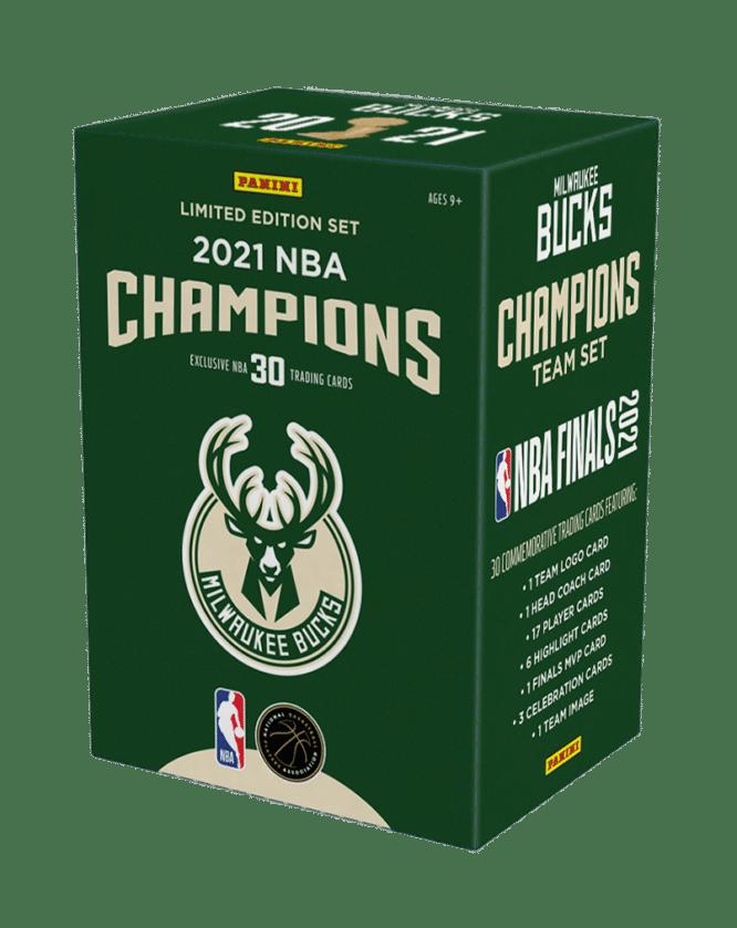 2021 Panini Milwaukee Bucks NBA Champions Box