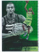 Andrew Wiggins Panini Essentials Basketball 2017-18 Base Green