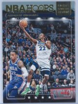 Andrew Wiggins Panini NBA Hoops Basketball 2018-19 Lights Camera Action Winter Parallel
