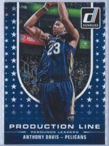 Anthony Davis Panini Donruss Basketball 2014-15 Production Line
