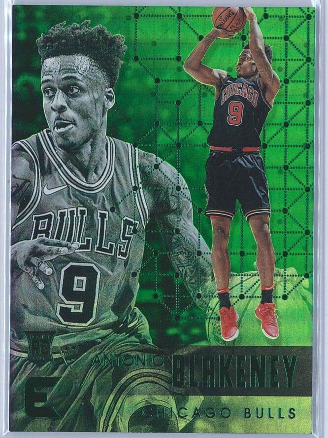 Antonio Blakeney Panini Essentials Basketball 2017-18 Base Green  RC