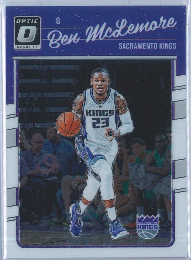 Ben McLemore Panini Donruss Optic Basketball 2016-17 Base