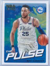 Ben Simmons Panini NBA Hoops Basketball 2018-19 The Pulse Winter Parallel