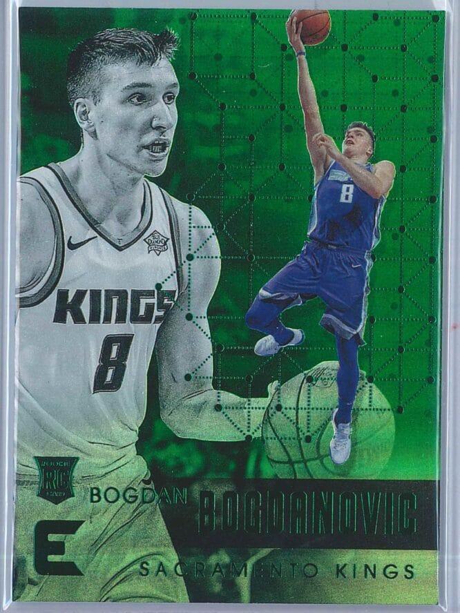 Bogdan Bogdanovic Panini Essentials Basketball 2017-18 Base Green  RC