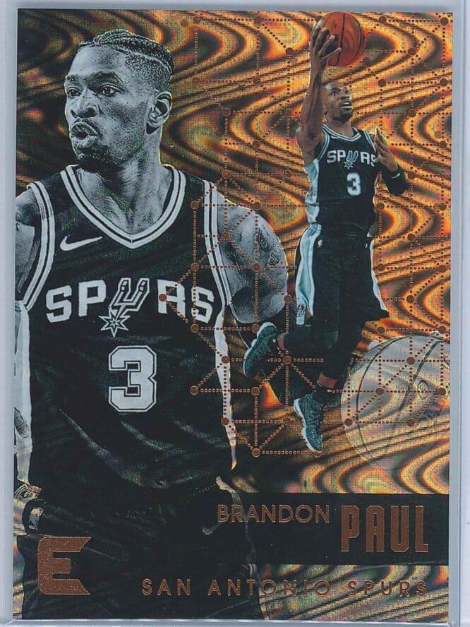 Brandon Paul Panini Essentials Basketball 2017-18 Base Spiral