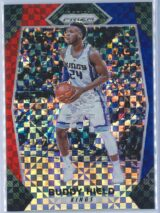 Buddy Hield Panini Prizm Basketball 2017-18 Base Red White Blue Parallel