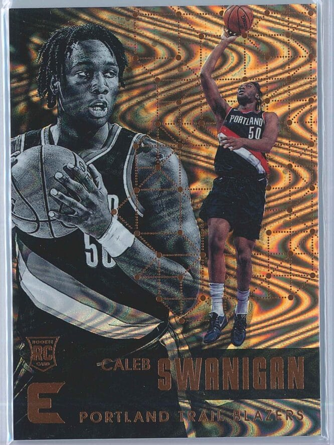 Caleb Swanigan Panini Essentials Basketball 2017-18 Base Spiral  RC