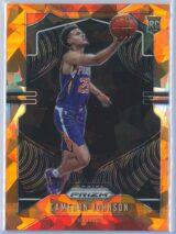 Cameron Johnson Panini Prizm Basketball 2019-20 Base Orange Ice Parallel  RC