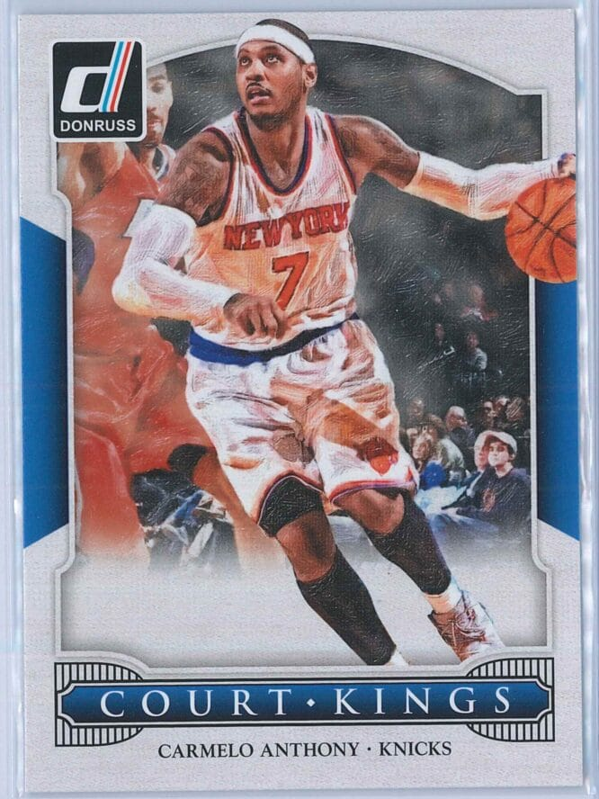 Carmelo Anthony Panini Donruss Basketball 2014-15 Court Kings