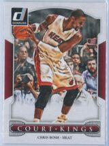 Chris Bosh Panini Donruss Basketball 2014-15 Court Kings