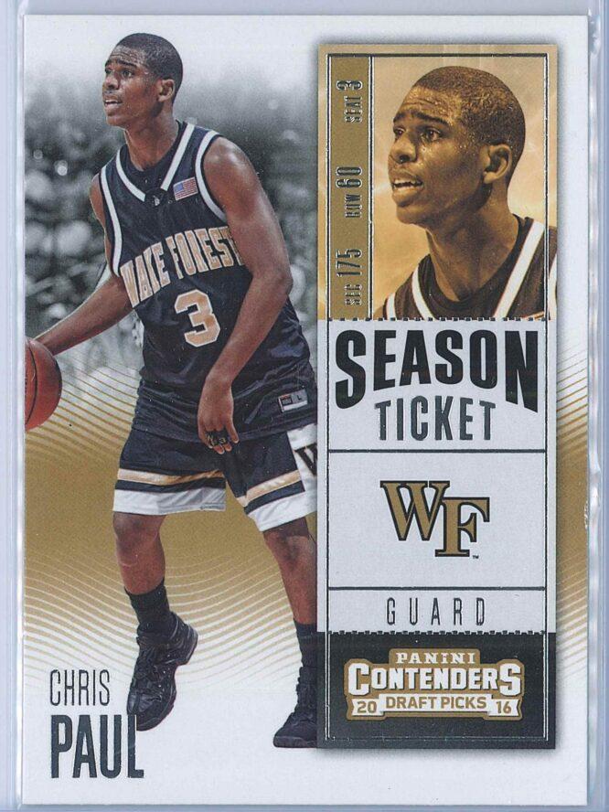 Chris Paul Panini Contenders Draft Picks Basketball 2016-17 Base Season Ticket