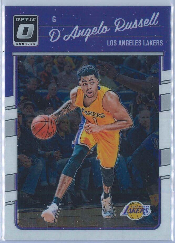 DAngelo Russell Panini Donruss Optic Basketball 2016-17 Base