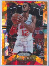 Daniel Gafford Panini Prizm Basketball 2019-20 Base Orange Ice Parallel  RC