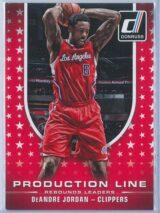 DeAndre Jordan Panini Donruss Basketball 2014-15 Production Line