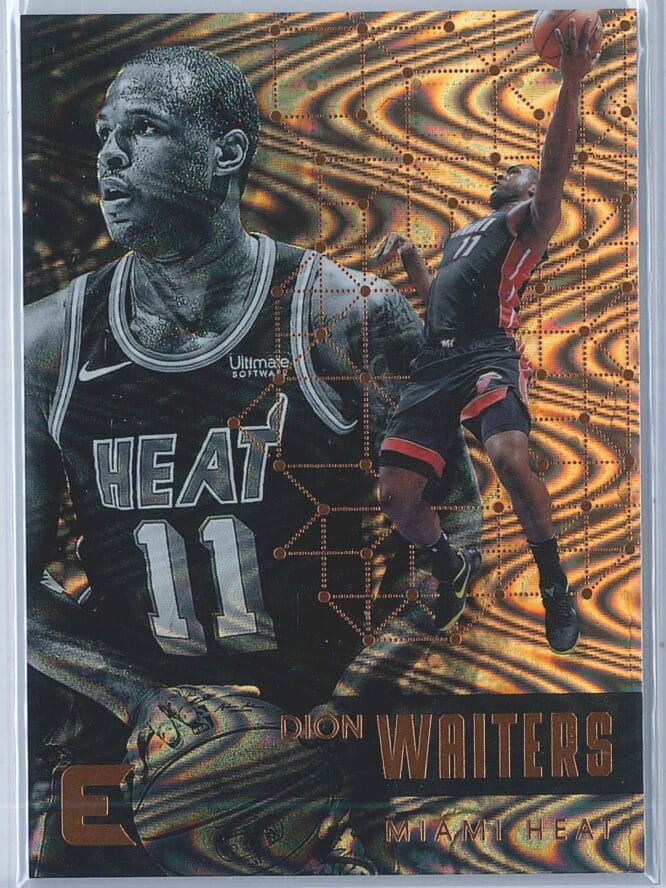 Dion Waiters Panini Essentials Basketball 2017-18 Base Spiral