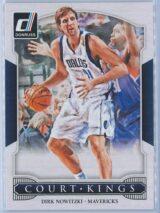 Dirk Nowitzki Panini Donruss Basketball 2014-15 Court Kings