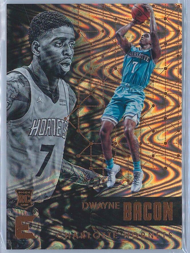 Dwayne Bacon Panini Essentials Basketball 2017-18 Base Spiral  RC