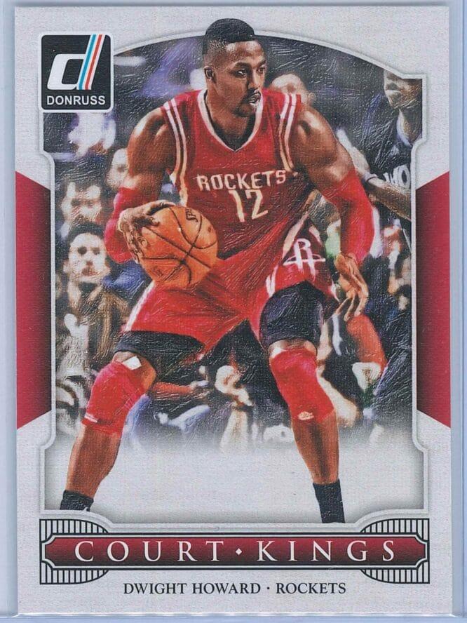 Dwight Howard Panini Donruss Basketball 2014-15 Court Kings