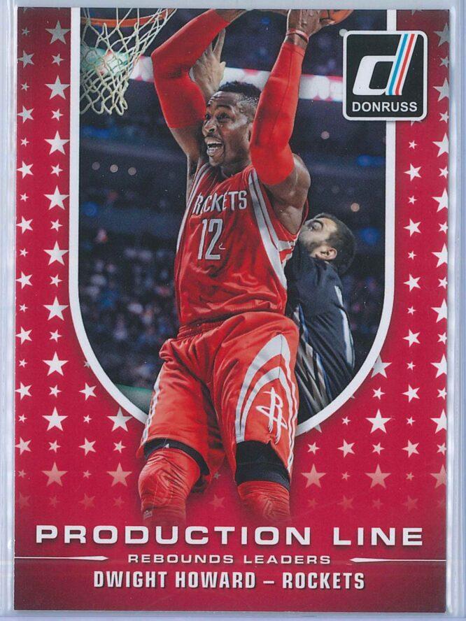 Dwight Howard Panini Donruss Basketball 2014-15 Production Line