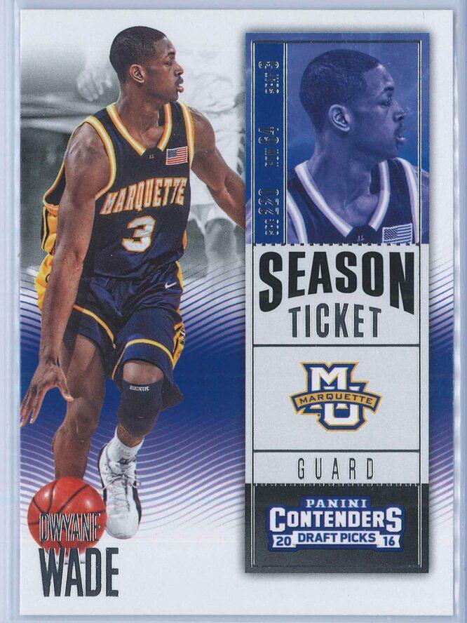 Dwyane Wade Panini Contenders Draft Picks Basketball 2016-17 Base Season Ticket