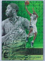 ETwaun Moore Panini Essentials Basketball 2017-18 Base Green