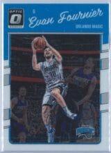Evan Fournier Panini Donruss Optic Basketball 2016-17 Base