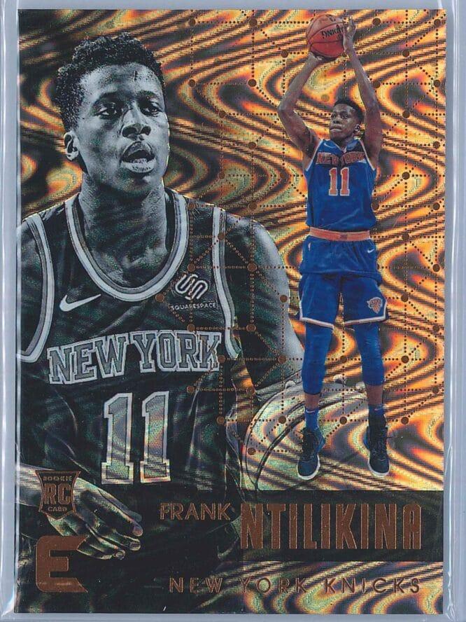 Frank Ntilikina Panini Essentials Basketball 2017-18 Base Spiral  RC