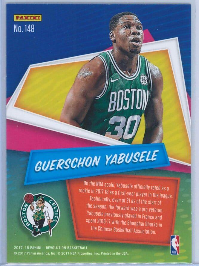 Guerschon Yabusele Panini Revolution Basketball 2017 18 Base Chinese New Year Parallel RC 2