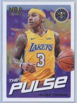 Isaiah Thomas Panini NBA Hoops Basketball 2018-19 The Pulse Winter Parallel