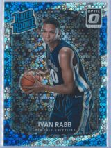 Ivan Rabb Panini Donruss Optic Basketball 2017-18 Rated Rookie Holo Fast Break Parallel