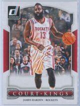 James Harden Panini Donruss Basketball 2014-15 Court Kings