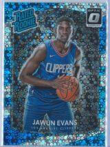 Jawun Evans Panini Donruss Optic Basketball 2017-18 Rated Rookie Holo Fast Break Parallel
