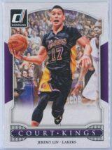 Jeremy Lin Panini Donruss Basketball 2014-15 Court Kings