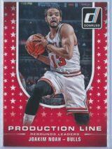 Joakim Noah Panini Donruss Basketball 2014-15 Production Line