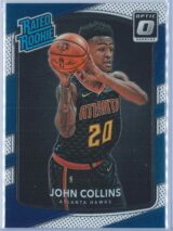 John Collins Panini Donruss Optic Basketball 2017-18 Rated Rookie