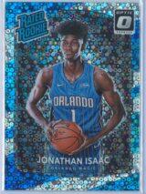 Jonathan Isaac Panini Donruss Optic Basketball 2017-18 Rated Rookie Holo Fast Break Parallel