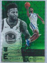 Jordan Bell Panini Essentials Basketball 2017-18 Base Green  RC
